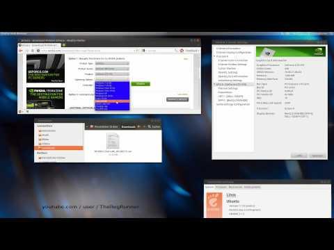 Ubuntu 11.10 : Grafikkarten Treiber manuell installieren [Nvidia Gforce GTX 470 , Twinview]