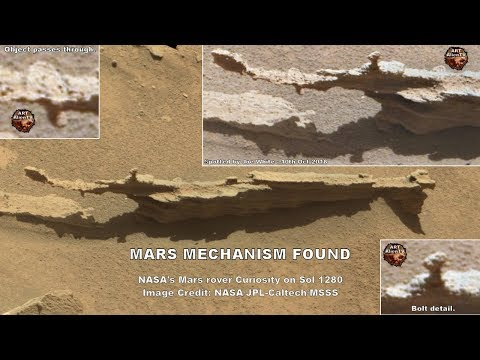nouvel ordre mondial | Mars Door Mechanism Found - November 12, 2018