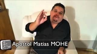 Apóstol Matias MOHE en Sarmiento