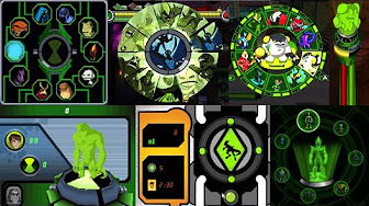 Mix – All Alien transformations in Ben 10 Videogames! PART 1