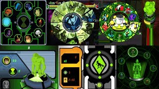 All Alien transformations in Ben 10 Videogames! PART 1