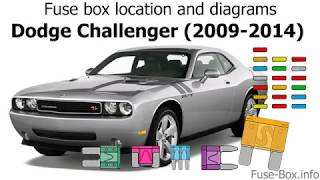 fuse box location and diagrams: dodge challenger (2009-2014) - youtube  youtube