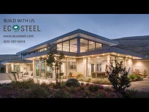 Architectural Metal Buildings - EcoSteel Modern Homes