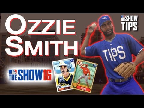 MLB The Show 16 - Ozzie Smith Flashback Review THE WIZARD