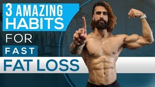 3 SIMPLE HABITS TO LOSE FAT FAST | Worst Fat Loss Mistakes by Abhinav Mahajan