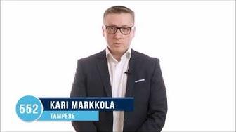 Kuntavaalit Tampere kunnallisvaalit kokoomus ehdokkaat Kari Markkola 552
