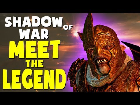 Middle Earth: Shadow of War Funny Moments - MEET THE LEGEND (Gravewalker Difficulty) |