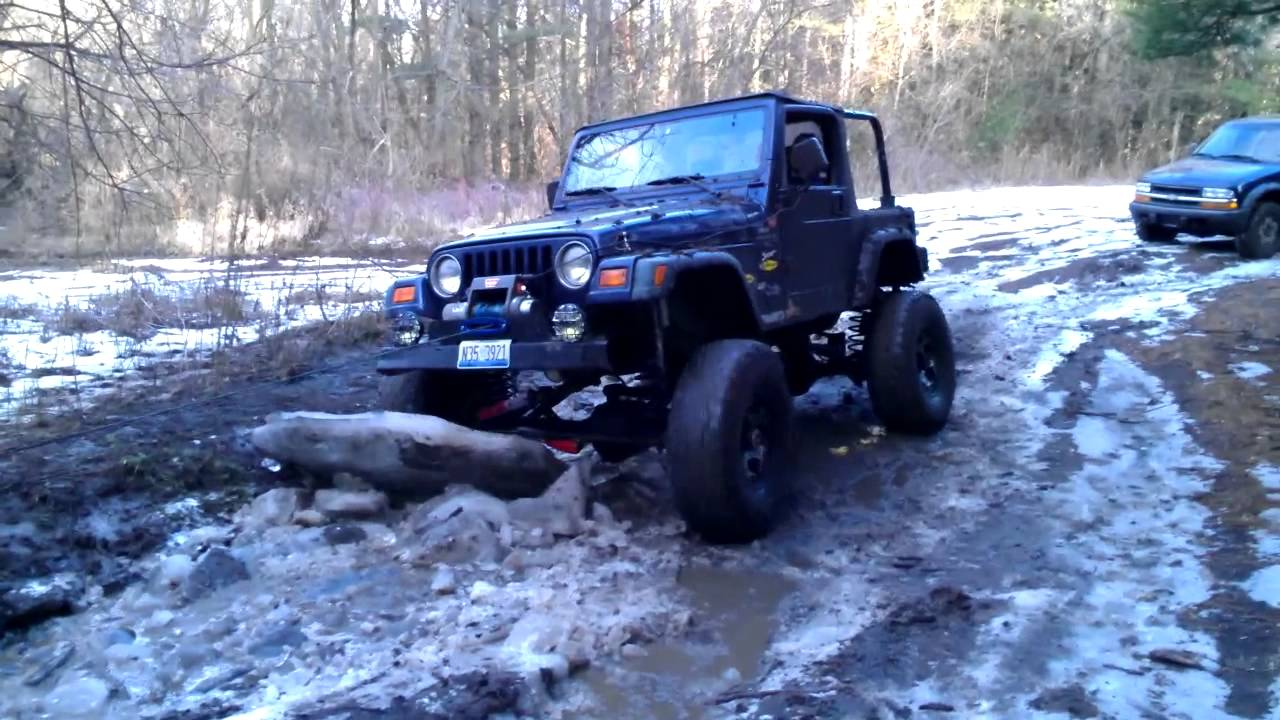 For Sale 2000 Jeep Wrangler TJ Off Road Ready