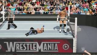 WWE 2K17 Aj Styles vs Cm Punk