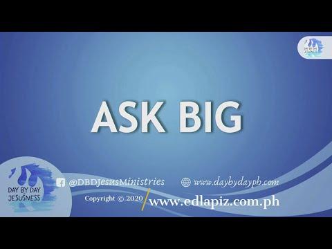 Download Ed Lapiz - ASK BIG