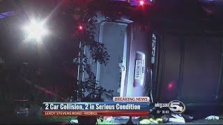 Leroy Stevens Road accident