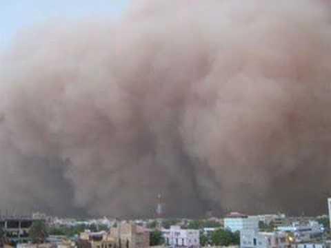 Sudanese Haboob last sudany in khartoum