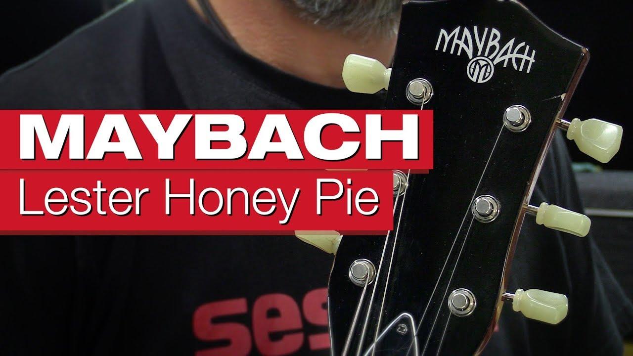 maybach lester honey pie 59 aged e-gitarren-review von session - youtube