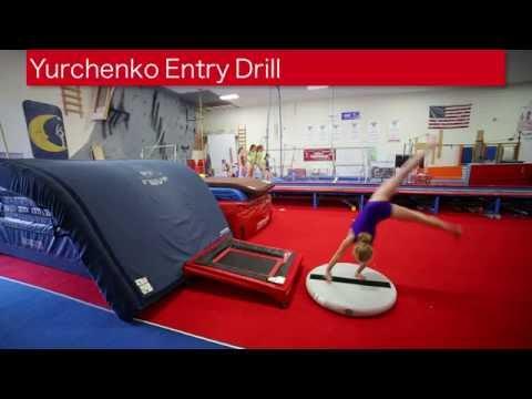 Yurchenko Entry Drill