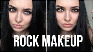 Rock makeup  |  Smoky eyes  |   Смоки с бликом