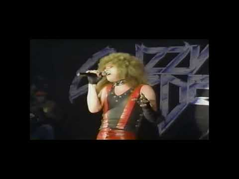 Lizzy Borden: Archives-performing in Los Angeles CA On Friday the 13th 1985
