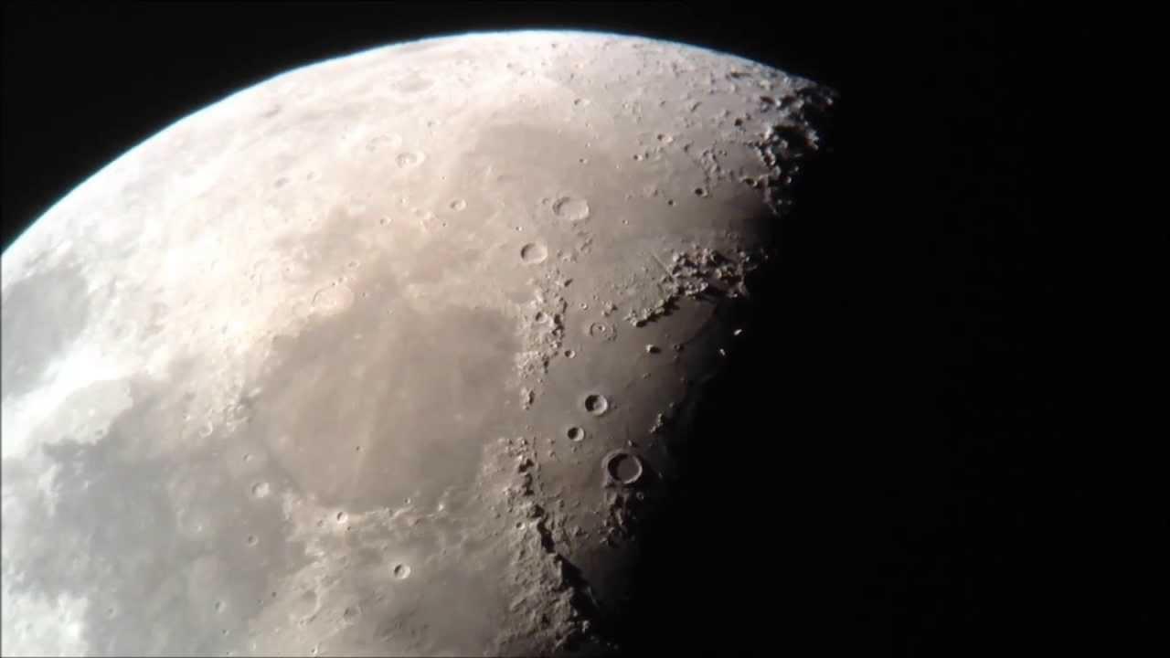 Moon and saturn skywatcher maksutov youtube