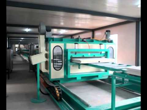Magnesium Mineral Sandwich Board Continuous Production Line