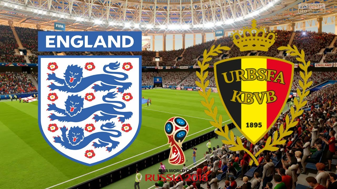 World Cup 2018 - England Vs Belgium - 28/06/18 - FIFA 18 ...