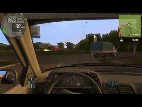 City car driving 1.4.0 - Прохождение карьеры - Первые навыки