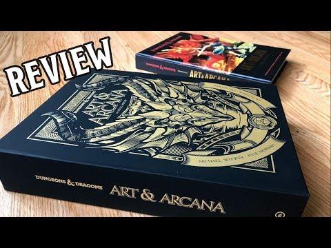 art-&-arcana---review---a-stunning-trip-through-d&d-history