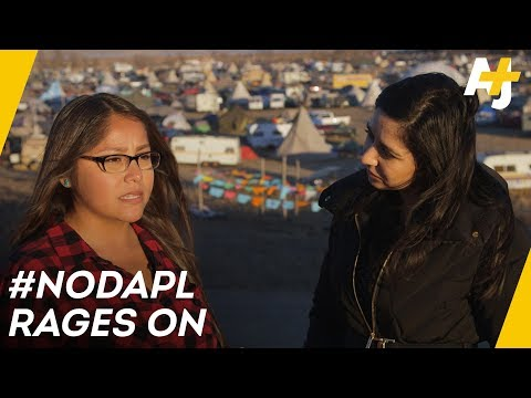 On The Front Lines, Fighting The Dakota Access Pipeline