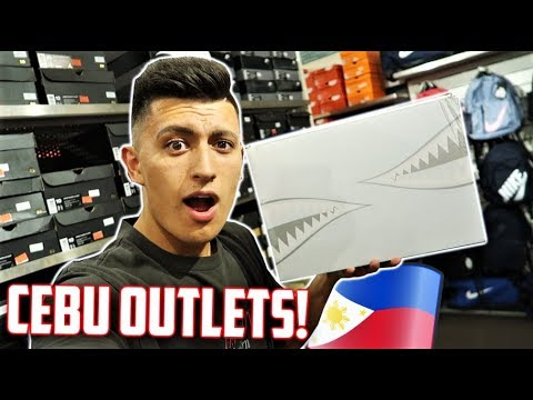 70% OFF JORDANS! Philippines NIKE OUTLET! (CEBU CITY VLOG)