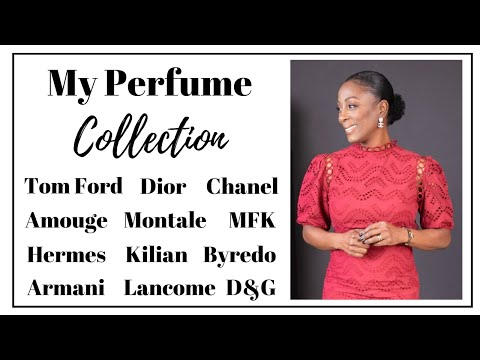 My Perfume Collection | Women Over 40 | AngelaMashelle