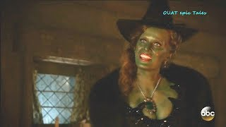 Once Upon A Time 7x17 Zelena Hansel - You Messed with the Witch You Get Burned Season 7 Episode 17