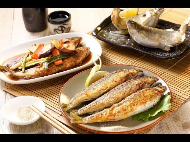 【楊桃美食網-3分鐘學做菜】烤香魚