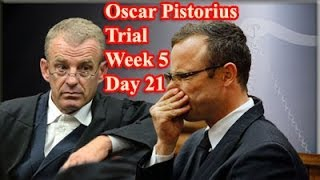 Repeat youtube video Oscar Pistorius Trial: Friday 11 April 2014