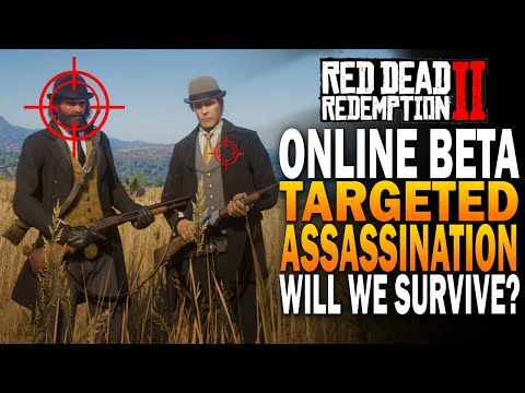 Our Posse Got Targeted For Assassination In RDR2 Online! Red Dead Redemption 2 Online