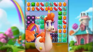 Candy Crush Friends Saga Level 617 (3 stars, No boosters)