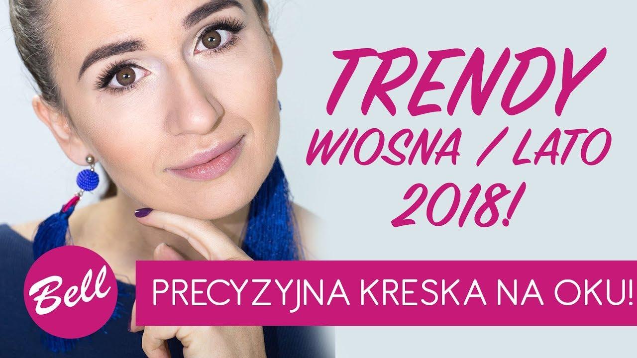 Trendy W Makijażu Wiosnalato 2018 Z Małgosią Smelcerzprecyzyjna