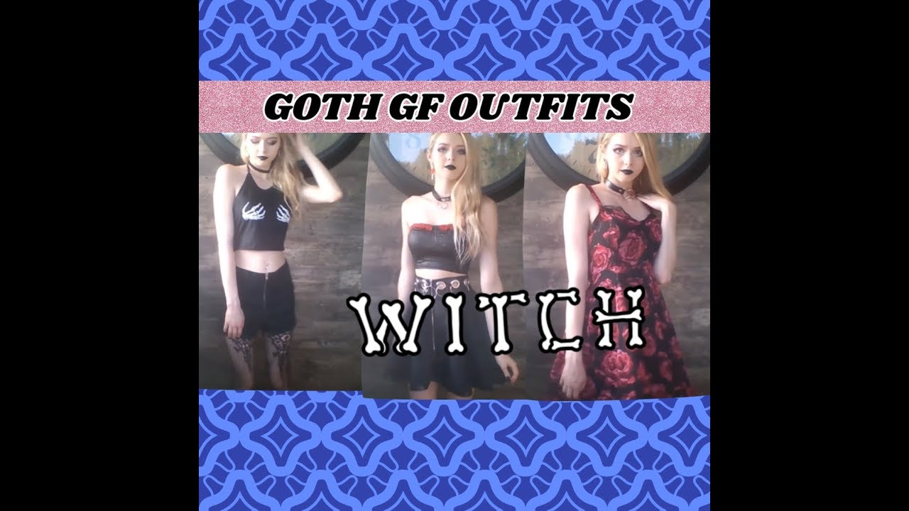 [VIDEO] - FAVORITE GOTH GF AESTHETIC OUTFITS (summer edition) 5