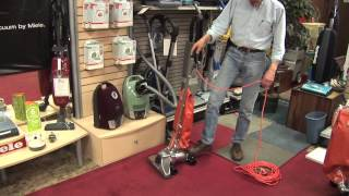 Overview of Royal All-Metal Commercial Upright Vacuum Cleaners