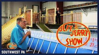 Jeff and Jerry Show: Rustic Lodge Diving Dogs