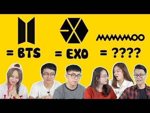 GAME HACK NÃO : Đoán logo nhóm nhạc Hàn - Tưởng dễ khó không tưởng !