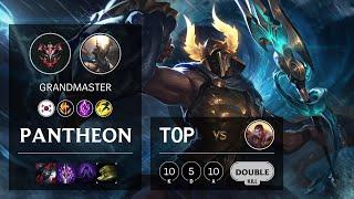 Pantheon Top vs Jayce - KR Grandmaster Patch 10.19