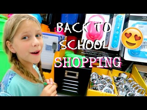 Back to School SHOPPING | School Supplies for Homeschool | Annie & Hope JazzyGirlStuff