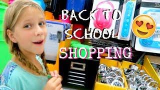 Back to School SHOPPING | School Supplies for Homeschool | Annie & Hope best friends
