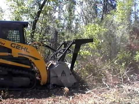 FAE UML/SSL Skid Steer Mulcher - Land Clearing