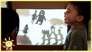 PLAY | SHADOW PUPPET THEATER (Cardboard Box!)