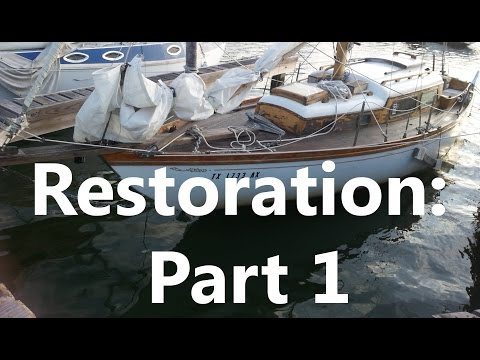 Our Journey Begins | Sailboat Restoration Ep. 1