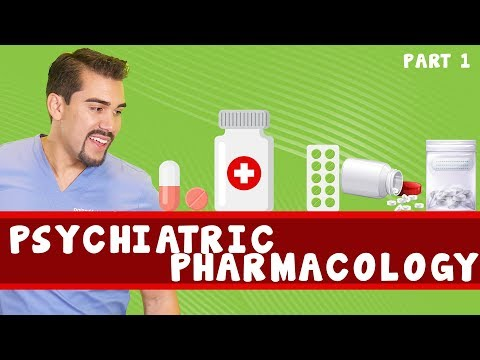 Psychiatric pharmacology. Part 1
