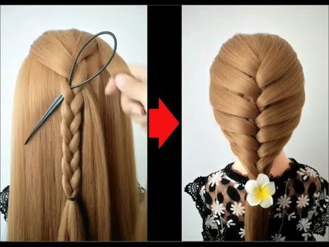 Top 10 amazing hairstyles 鈾ワ笍 Hairstyles Tutorials 鈾ワ笍 Easy hairstyles with hair  tools