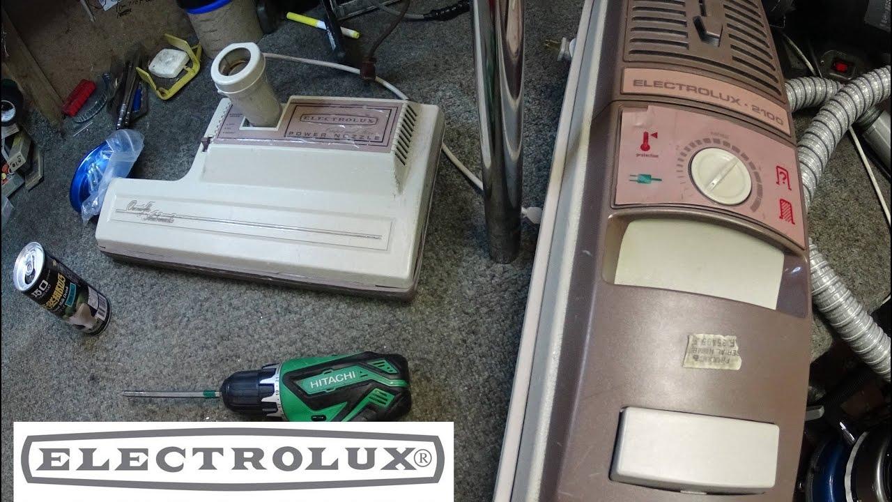 electrolux 2100 aerus vacuum service tune up youtube rh youtube com