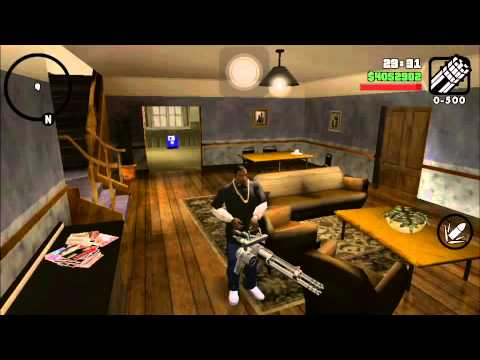 Grand Theft Auto : San Andreas IOS Hack! Unlocks Everything for FREE