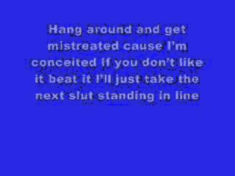 Dick Head - Mad Child (lyrics on screen)