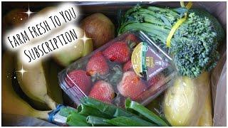 Farm Fresh To You Subscription Box